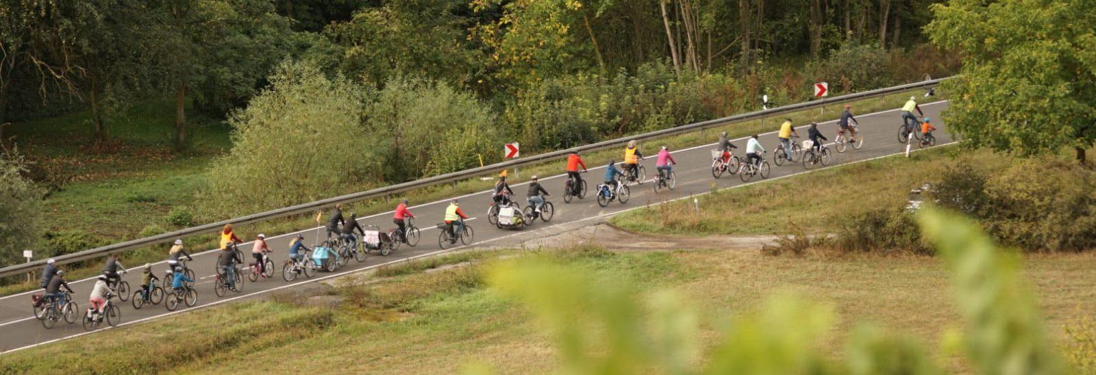 Fahrrad-Demo mit großer Resonanz und starker Beteiligung!